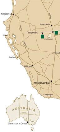 ジェニファ オーストラリア地図