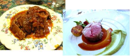 モンテプルチアーノ 料理写真