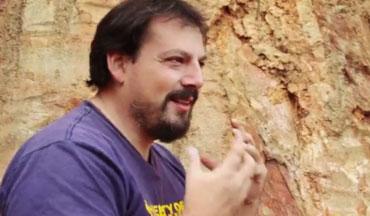 地質学者 ペドロ・パッラ氏