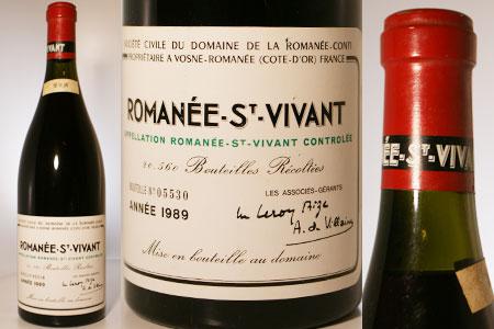 DRC ロマネ・サン・ヴィヴァン 1989