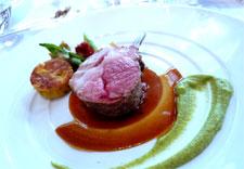 モンテプルチアーノ 羊肉のグリル