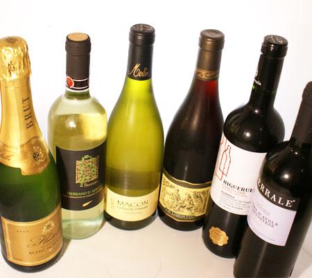 女性に人気のワインばかりのセット