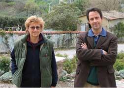 オーナー ルカ・サンジュスト氏と母ルチアさん