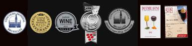 アンナ・スピナートプロセッコ エクストラ・ドライ 授賞メダル