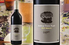 ローガン・ワインズ アップル・ツリー・フラット メルロー 2009