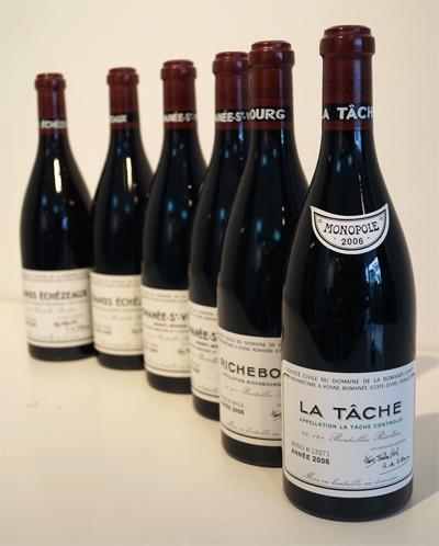 DRCのワイン ラ・ターシュ