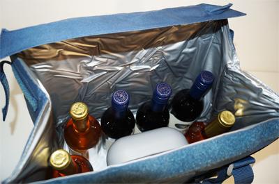 ドメティック ソフトクーラーバッグ S28 ワインが6〜7本収納できます!