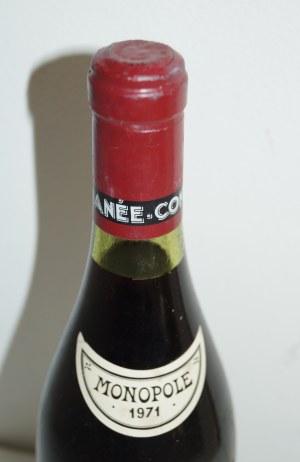 ロマネコンティ1971の液面、コルクの状態