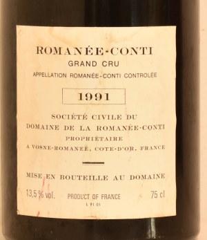 ロマネコンティ1991バックラベル