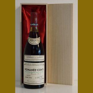 1976 Domaine de la Romanee-ContiDRC Romanee-Conti