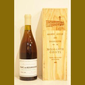 1995 Domaine de la Romanee-Conti Marc de Bourgogne