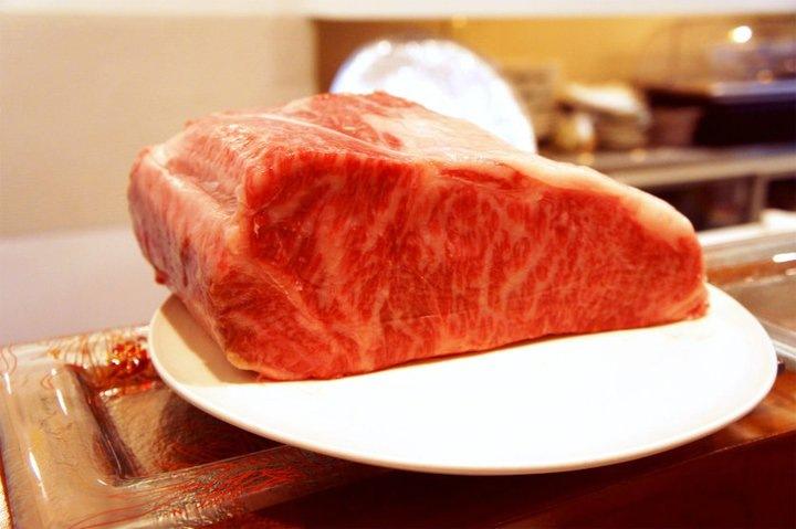 ワイン会当日出されたメイン料理の神戸牛